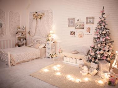 Vánoční ložnice